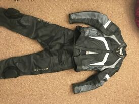 Buffalo Motorcycle 2 piece leather suit