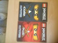 Lego ninjago book joblot