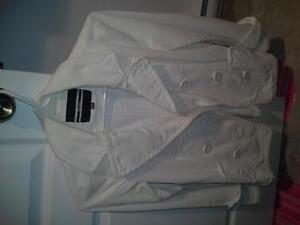 veste fille en velour blanc Saguenay Saguenay-Lac-Saint-Jean image 1