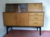 Rare 1960s retro/vintage Nathan furniture drinks cabinet / sideboard