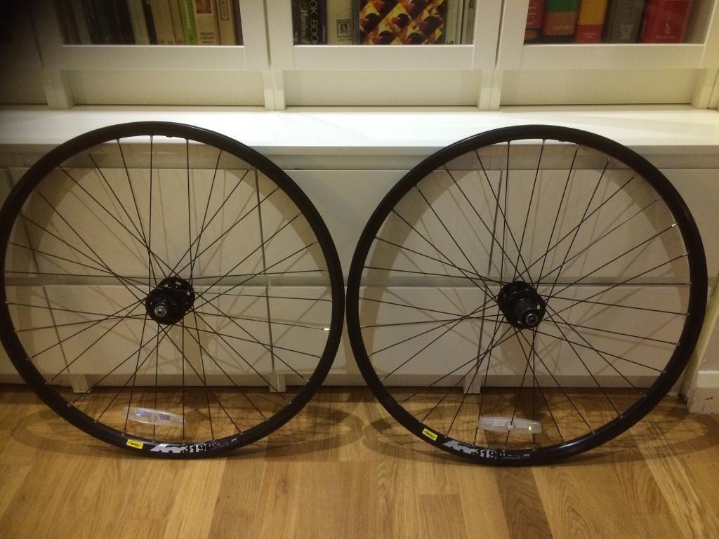 "Magic XM319 650B 27.5"" wheel set (as new condition)"