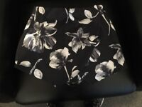 Floral print skorts