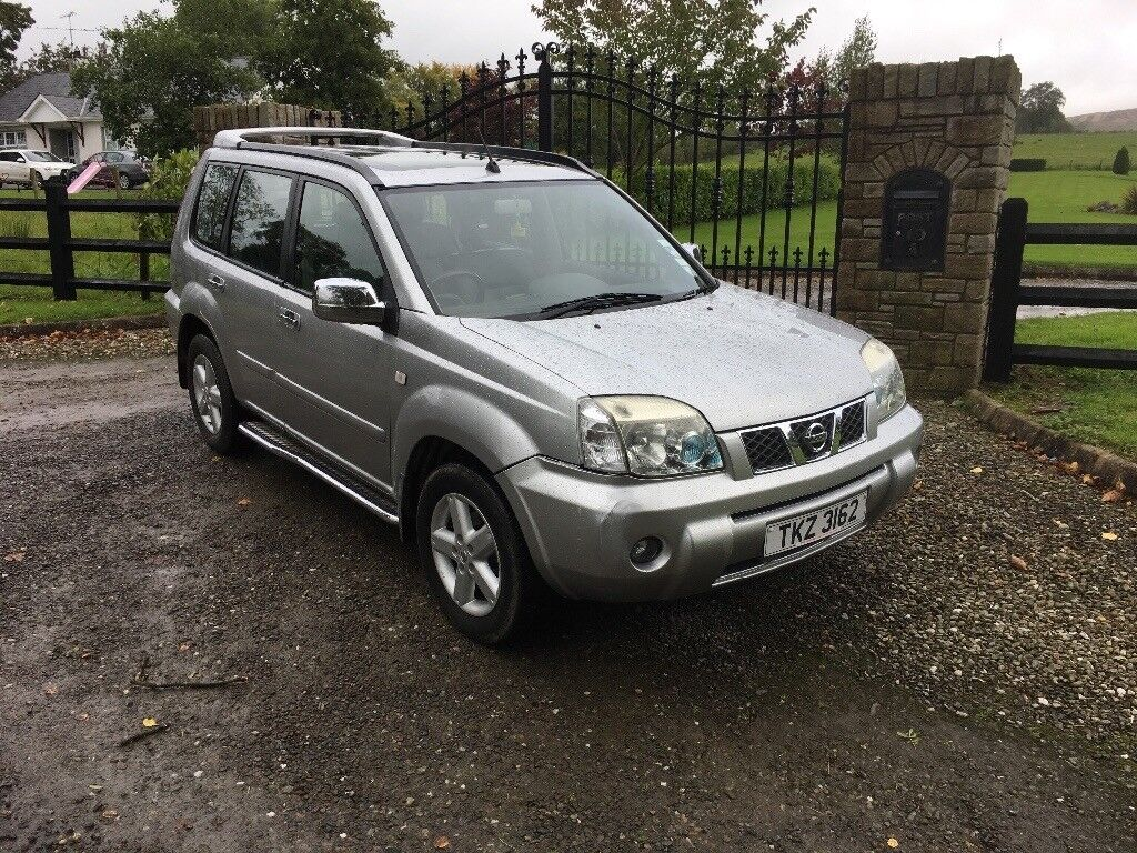 2005 NISSAN X-TRAIL 2.2 DCI SILVER 6 SPEED MANUAL *NICE JEEP*
