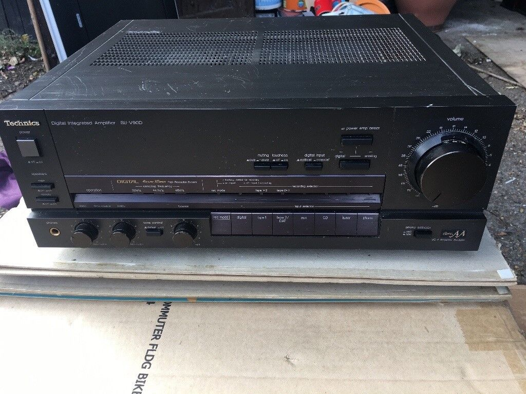 Technics amp/cd player