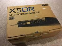 Korg X5DR AI2 Synth Module