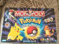 Pokemon Monopoly **Collector's Edition**
