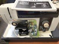 Toyota Sewing Machine Model 555