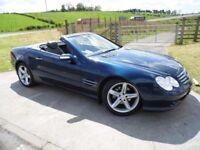 MERCEDES-BENZ SL 3.7 SL350 2d AUTO 245 BHP