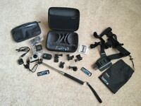GoPro Hero3 'black' edition includes waterproof case, chest mount harness, wifi remote and more,