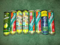 Tennis balls (8 boxes)
