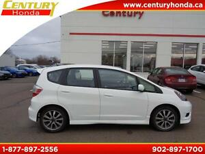 2012 Honda Fit+160K FULL WARRANTY Sport