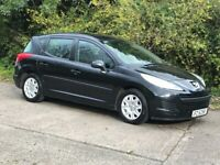 cheap diesel.2011 peugeot 207 1.6 hdi estate.full service history.inc.timing belt.£30 tax