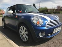 +++ 1 YEAR Mot +++ Lovely, Two - Tone DEC 2007 Mini Cooper 1.6 3dr, 85,000 mls, Good service history