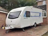 Sprite Alpine 4 Caravan .....2013.......Fixed bed.