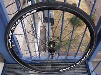 mavic aksium 700c front disc wheel