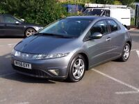 HONDA CIVIC 1.8 ES VTEC NEW SHAPE EXCELLENT FAMILY CAR WITH MANY EXTRAS FITTED PART EX WELCOME