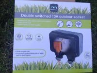 Need 13a outdoor socket installed