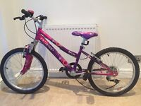 Pink girls Kraze bike
