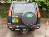 2002 Land Rover Discovery 4ltr Petrol V8 7 Seater