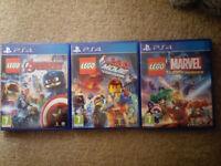 PS4 Lego Games Bundle