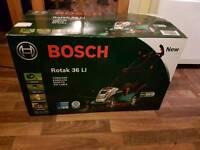 Bosch Rotak 36 Li cordless lawnmower
