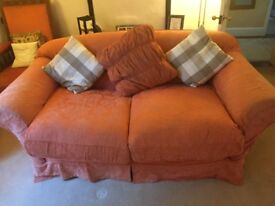 3 seater Tetrad Fabric Sofa. Liberton, Edinburgh