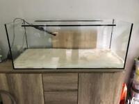 1 metre long open fish tank/aquarium