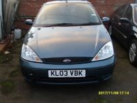 FORD FOCUS 1.6 cc..2003..5 DOORS..LONG MOT