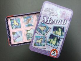 Bella Sara Magical Horse Memory Game, brandnew by Schmidt Games - ideal Present