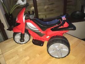 Motorised mini quad