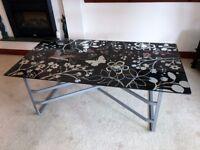 Ikea VIKA NYKIL Glass Table