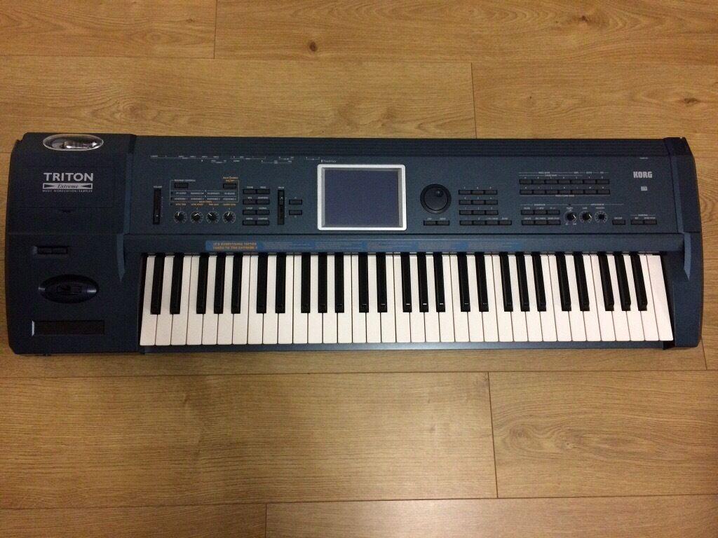 Korg Triton Extreme 61 Note Music Workstation