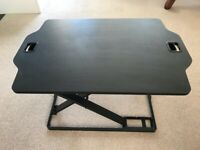Stand Up Sit Down Desk Extender.