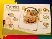 Bright starts cozy kingdom portable swing