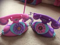 Sofia the first Walkie talkie phones