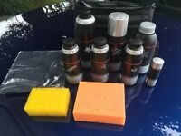 Original New & Unused Audi Car Wash Kit - 10 items in original Audi nylon bag