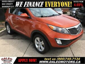 2011 Kia Sportage EX | AWD | HEATED SEATS | BACK UP CAMERA
