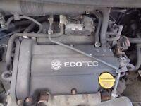 Vauxhall Corsa Design 1.4L Petrol 90BHP --- ENGINE ----- 2008