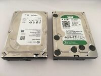 5TB and 4TB hard disk drives