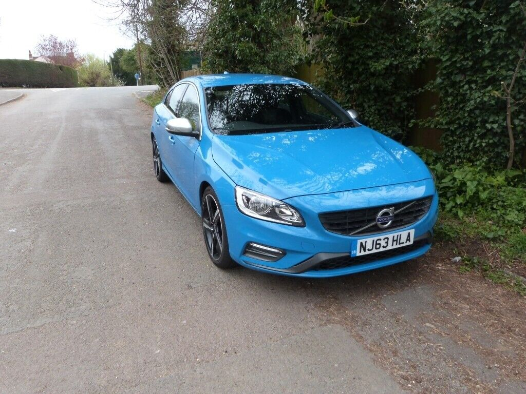 2013 Volvo S60 R Design Rebel Blue In Stonehouse Gloucestershire Gumtree