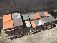 170+ red and black Victorian floor tiles