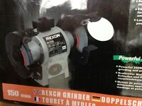 Bench Grinder - Rexon BG1502A (Unused / Unopened)