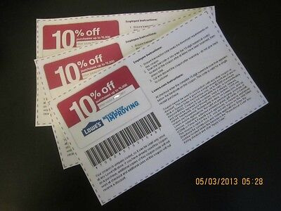 (3) 10% off competitor coupons Expire June 27 to be used at Home Depot / Menards on Rummage