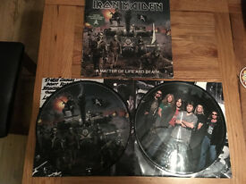 IRON MAIDEN Double Album A Matter of Life and Death Picture Disc