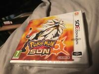 Sealed Pokémon sun 3ds