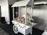 Hire our candy cart for as little as £75