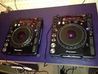 Pioneer CDJ1000-MK2s (pair)