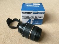 Tamron AF 18-200mm F/3.5-6.3 XR Di II LD Aspherical (IF) Macro for Nikon SLR cameras