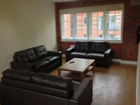 Double room to let, shared student apartment, sheffield university, hallam university, city centre