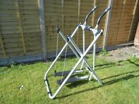 Cross trainer air walker
